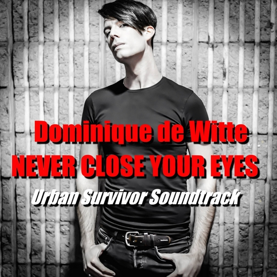 Dominique de Witte - NEVER CLOSE YOUR EYES - pochette - 2014